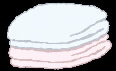 収納場所がキッチンのタオル分類と収納方法①