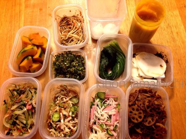 今週の常備菜~常備菜つくりにかかる時間実測~