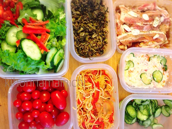 今週の常備菜~一週間献立立案した上での常備菜つくりはいかに?!~