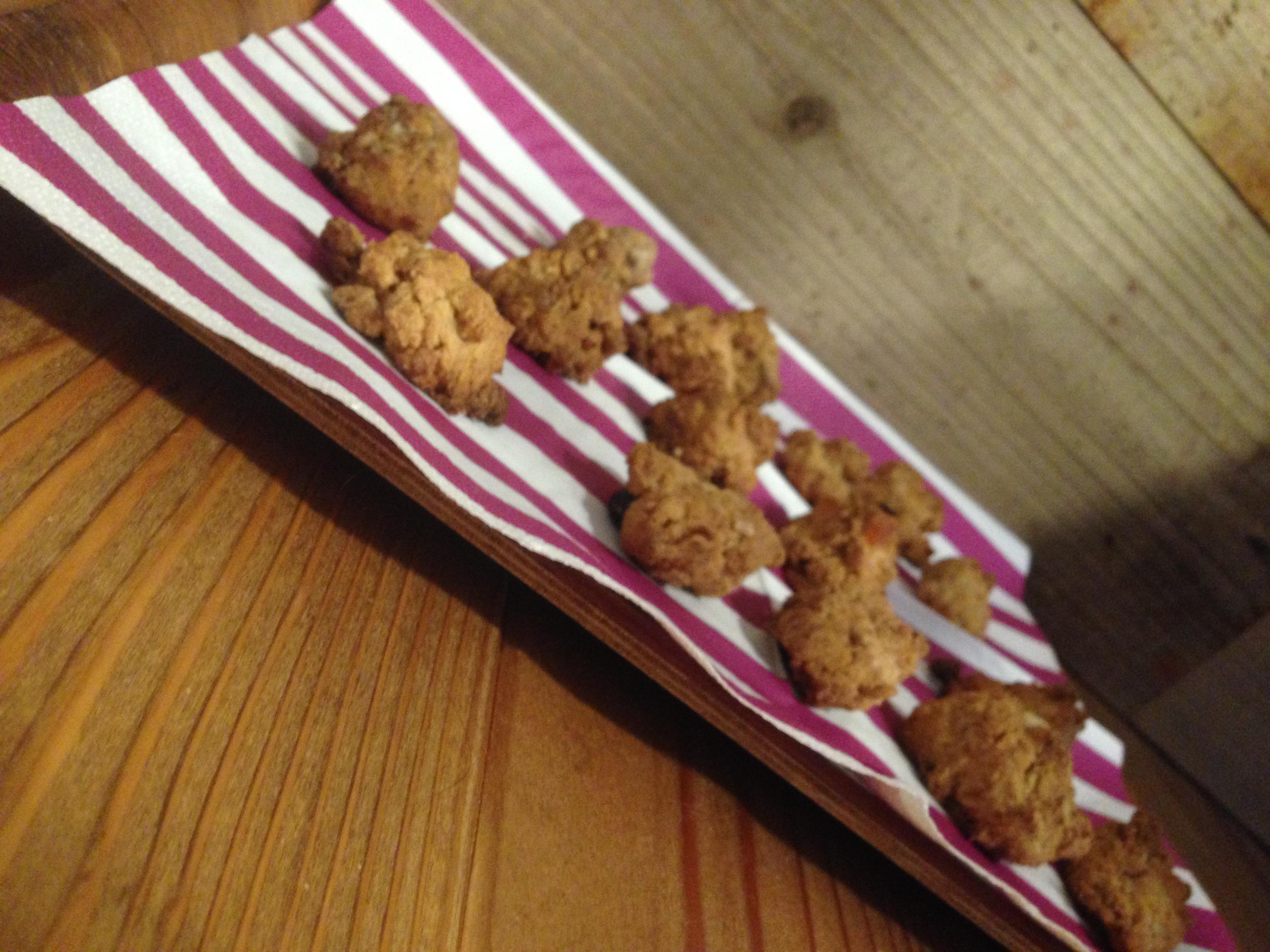 【卵・乳・小麦不使用】1個で満足感たっぷり!な米粉グラノーラクッキーのレシピ
