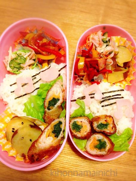 【保育園 お弁当】4歳と1歳のお弁当 ピック使用禁止!子どもらしさをお弁当に詰め込む工夫はどーする?