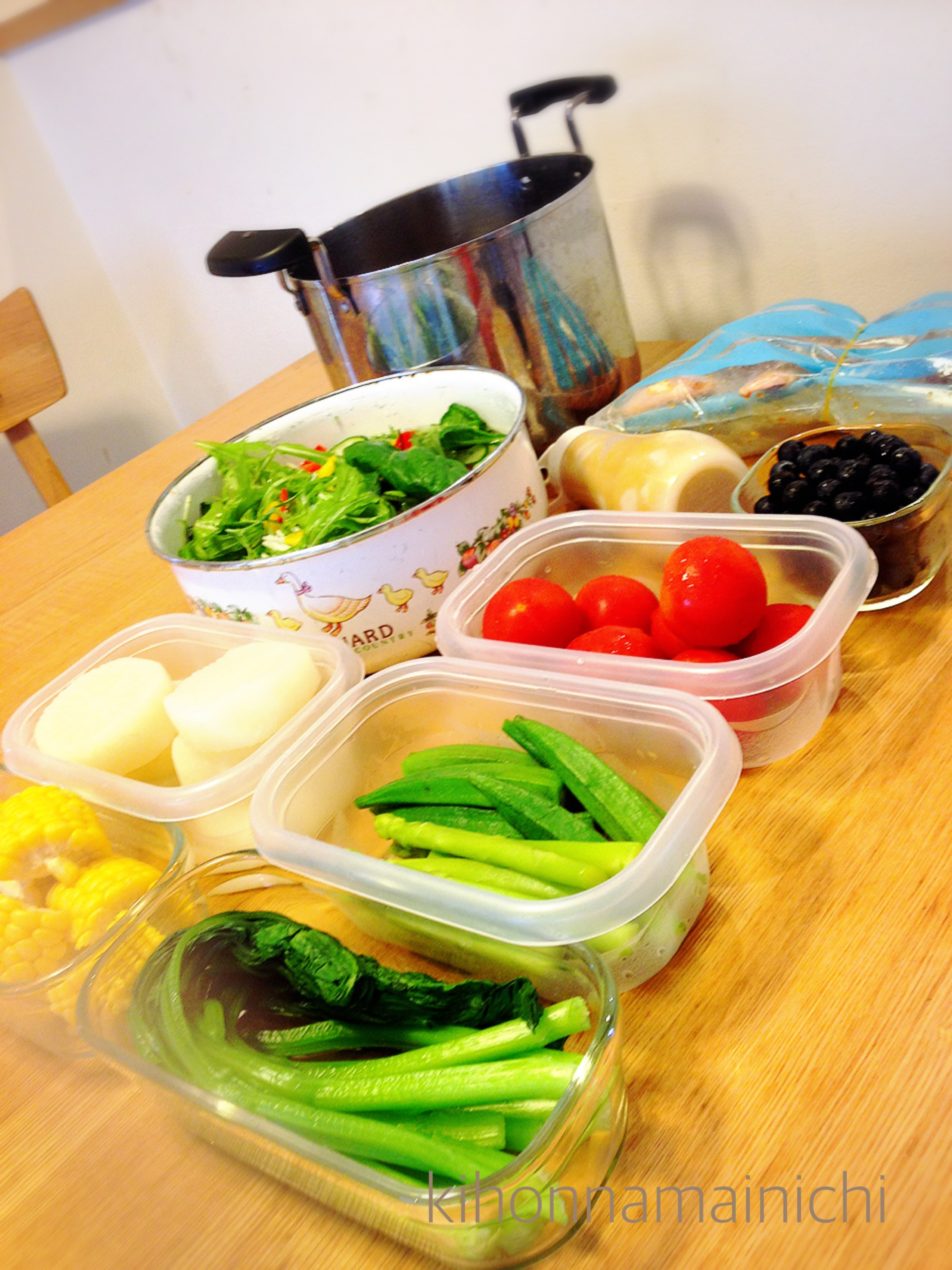 夏場こそ常備菜に頼るワケ!キッチンに立つ時間を短くしたい。