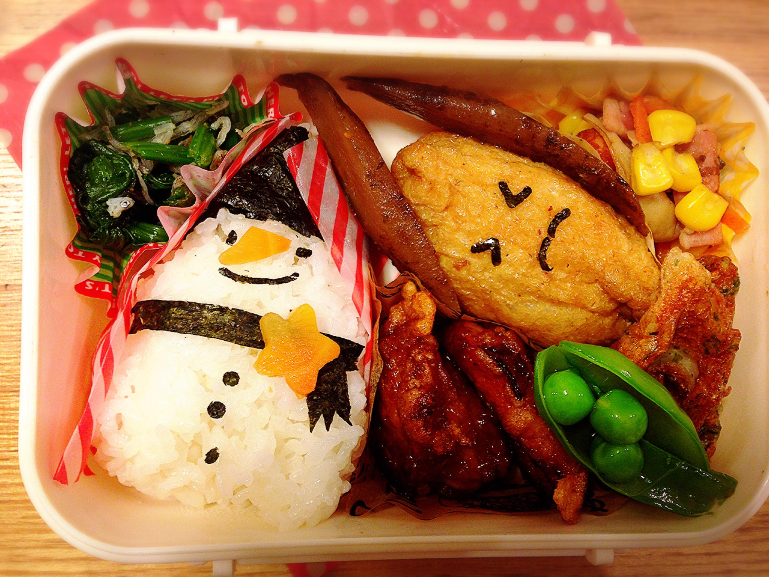 冬の子どものお弁当