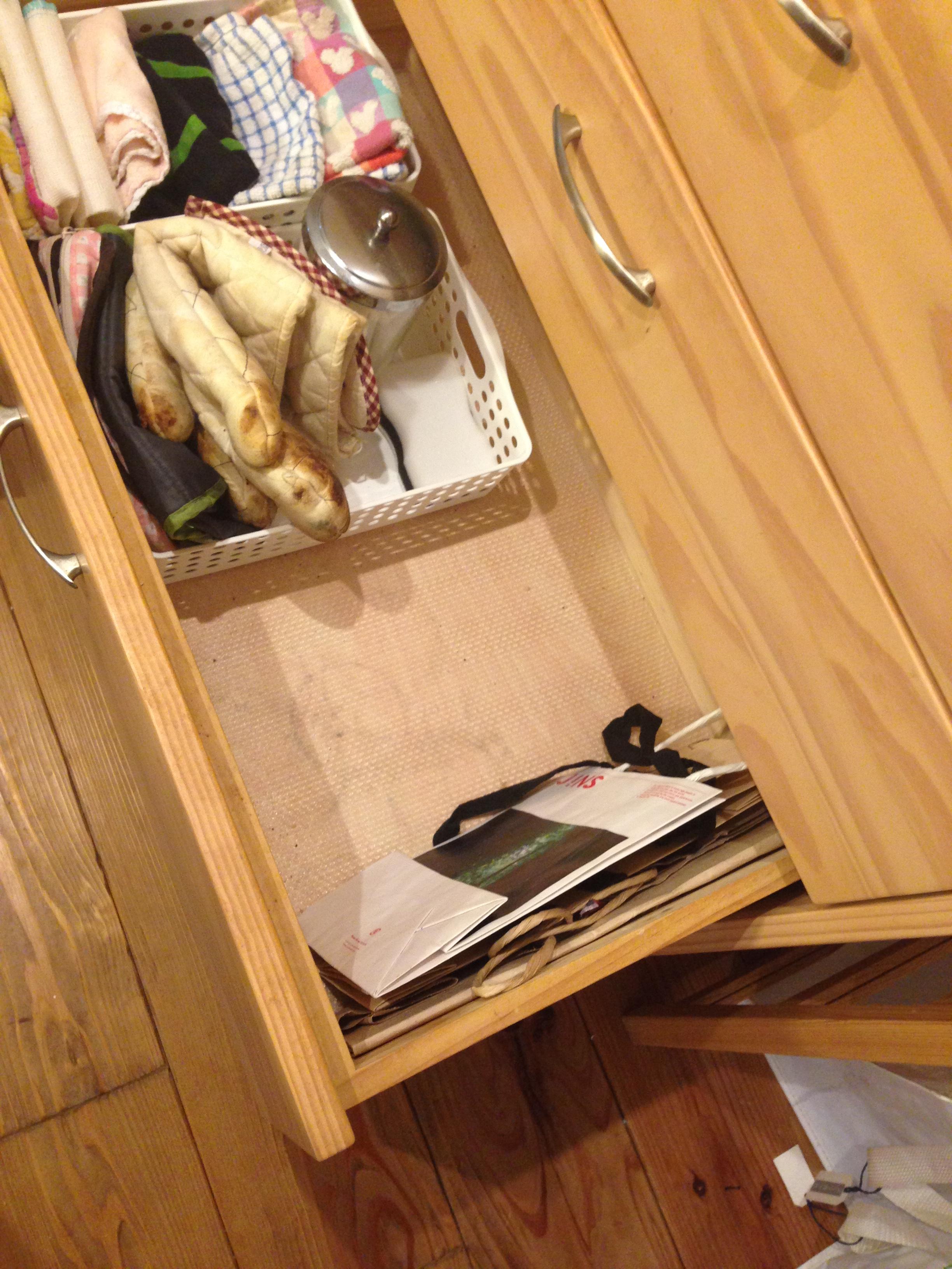 キッチンが片づけられないならフリースペース収納。