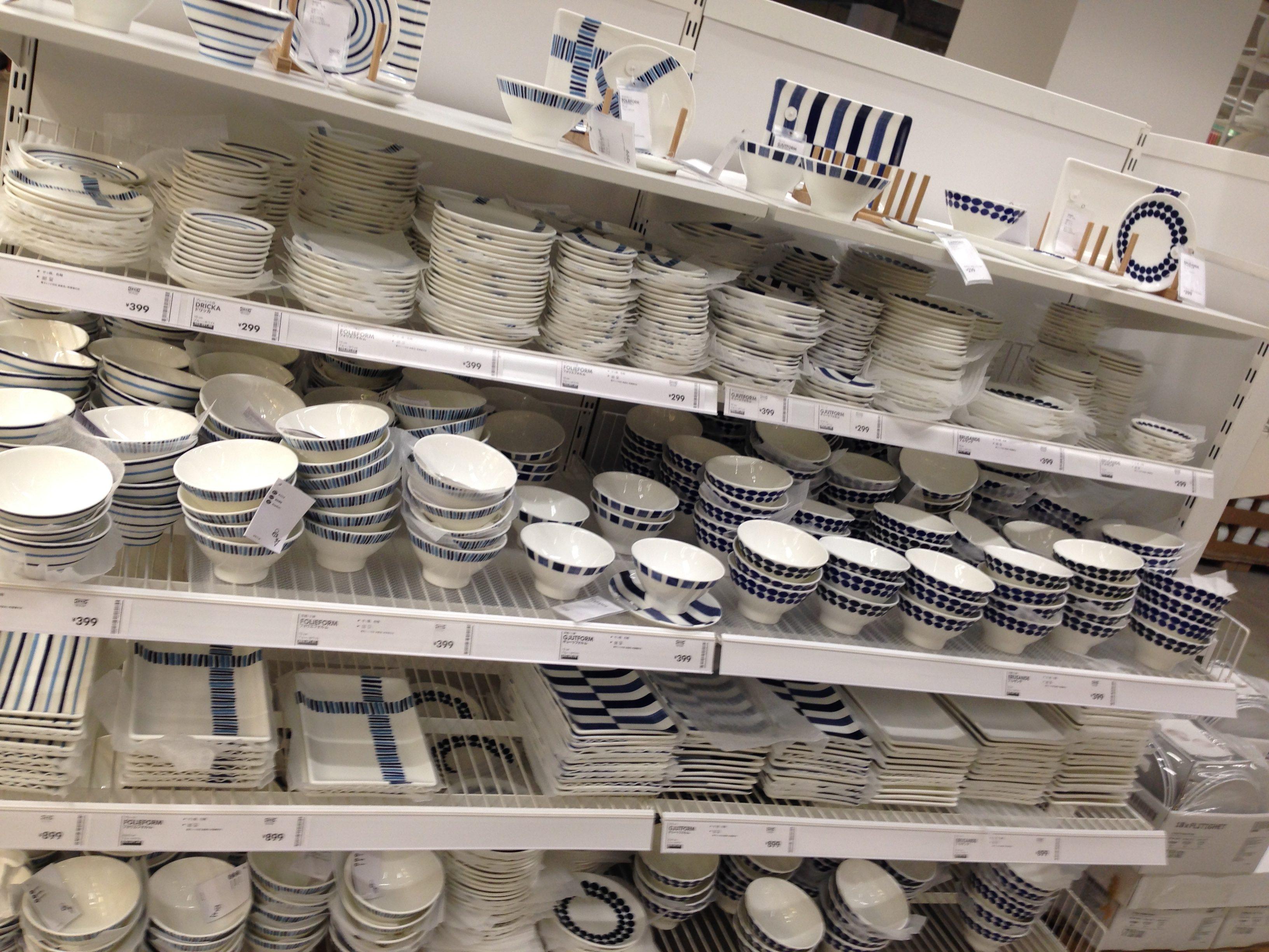 自宅IKEA率3割(目分量)のIKEA好きがIKEAの食器を見直した件。