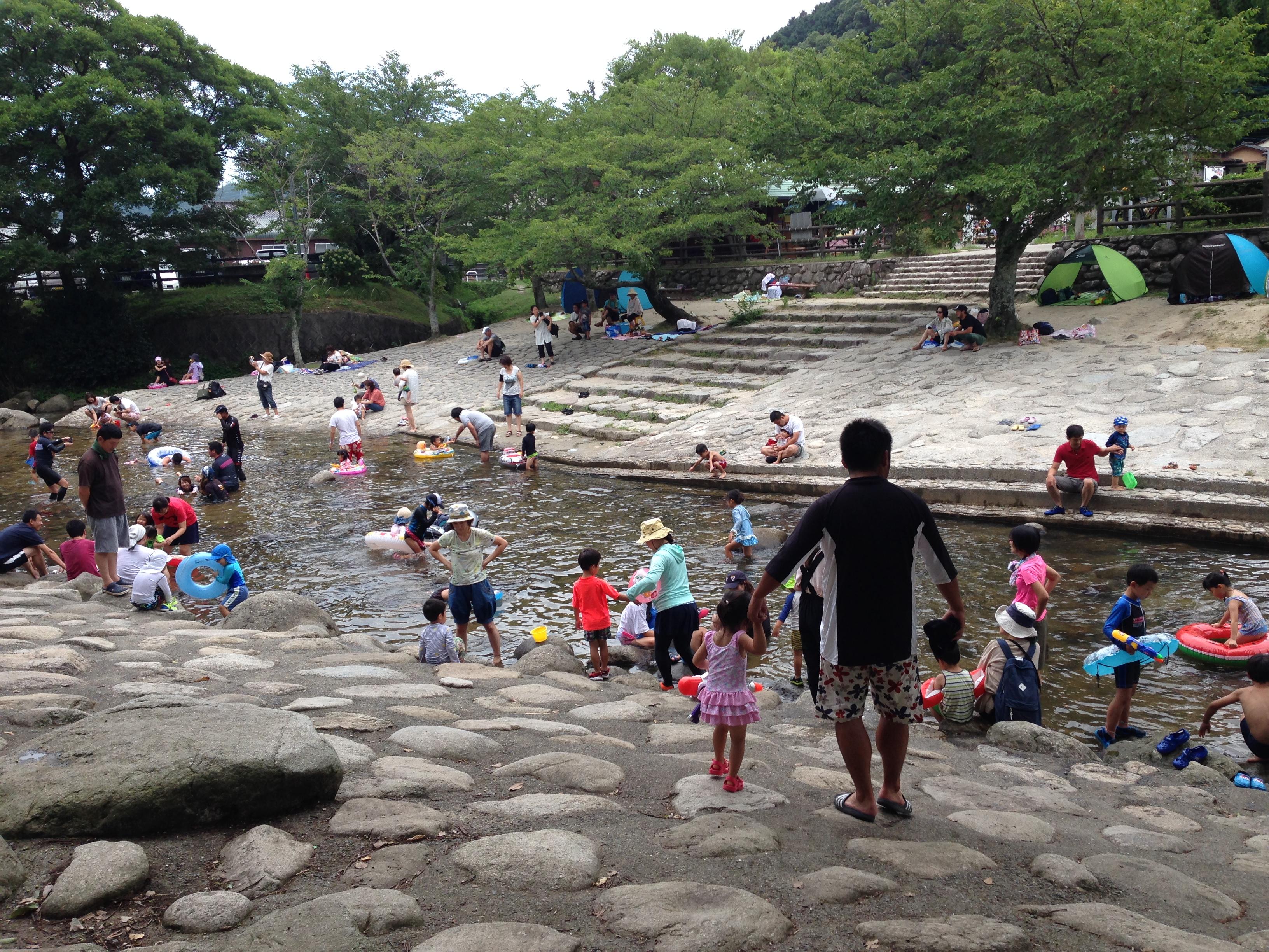 【中ノ島公園 那珂川】川遊びスポットへ行くなら朝イチが断然オススメ。