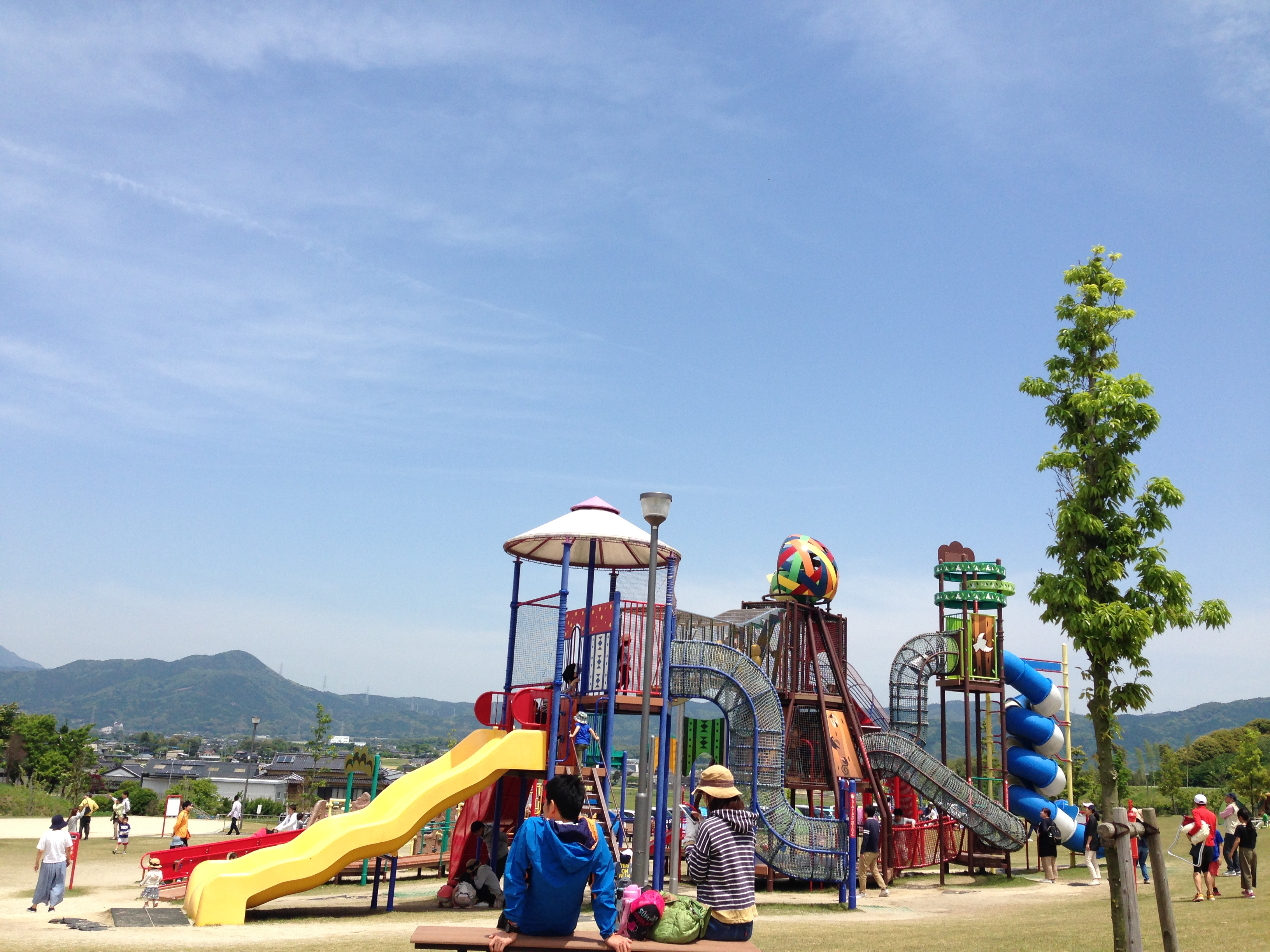 筑前町多目的運動公園!!