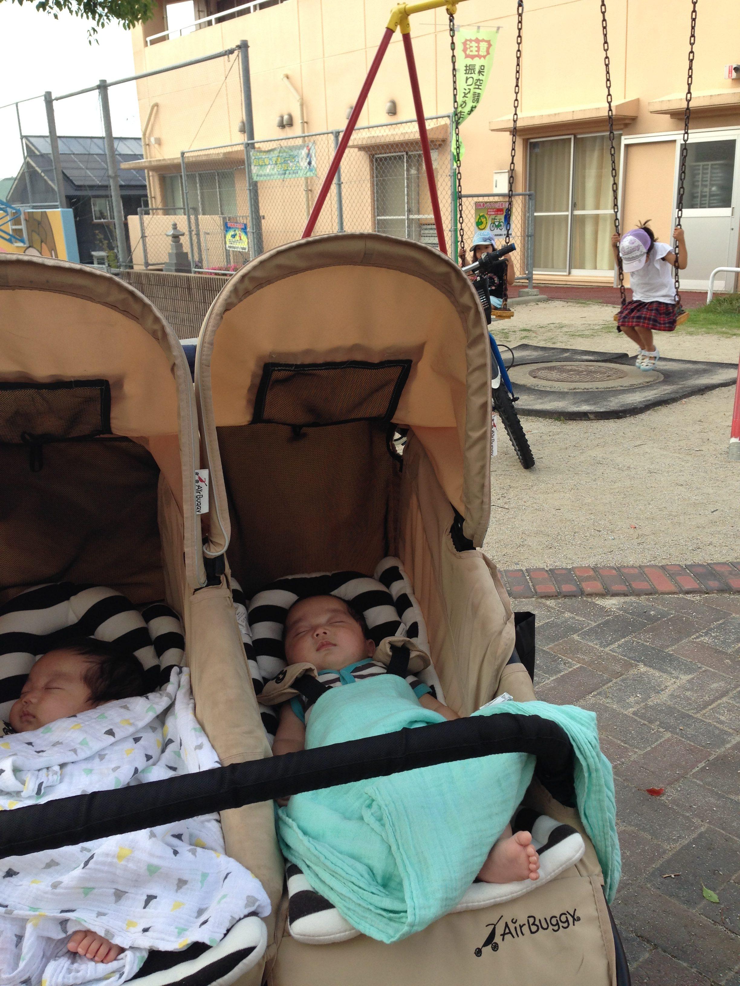 双子移動手段・・現時点での我が家の最強説がよーやっと落ち着きました。
