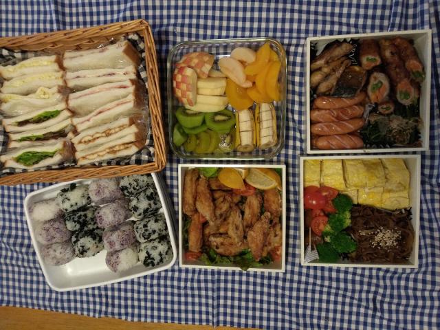 【運動会のお弁当】2019 サンドイッチお弁当!!